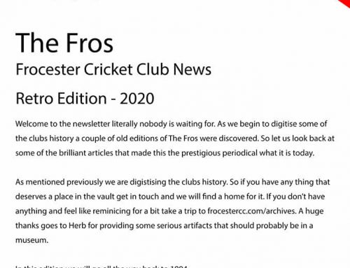 The Fros – Retro Edition